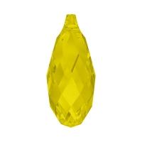 Swarovski Подвеска Бриолетт 11мм Yellow Opal (6010)