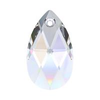 Swarovski Подвеска Капля 22мм Crystal AB (6106)