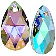 Swarovski Подвеска Капля 6106 16мм Crystal Paradise Shine