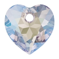 Swarovski Сердце многогранное 10.5мм Crystal Shimmer (6432)