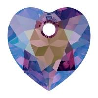 Swarovski Сердце многогранное 10.5мм Amethyst Shimmer (6432)