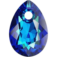 Swarovski Груша Pear Cut 11мм Bermuda Blue (6433)