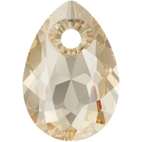 Swarovski Груша Pear Cut 9мм Golden Shadow (6433)