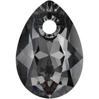 Swarovski Груша Pear Cut 9мм SilverNight (6433)