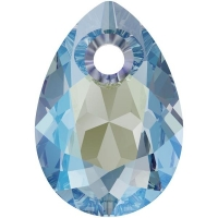 Swarovski Груша Pear Cut 11.5мм Aquamarine Shimmer (6433)