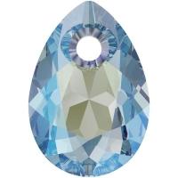 Swarovski Груша Pear Cut 9мм Aquamarine Shimmer (6433)