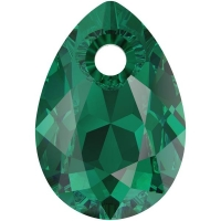 Swarovski Груша Pear Cut 9мм Emereld (6433)