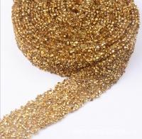 Кристальная лента Gold Topaz, 10*3см