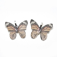 Подвеска Лист гальванический, Бабочка