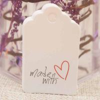Этикетка Made with Love; 20 штук