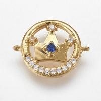 Коннектор Корона в круге, цвет золото
