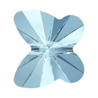 Swarovski Бабочка 10мм, 5754 Aquamarine