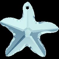 Swarovski Подвеска Звезда 16мм, Aquamarine (6721)