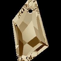 Подвеска De-Art 18мм ,Crystal Golden Shadow (6670)