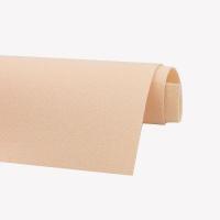 Фетр жёсткий Ю.Корея; толщина 1.2мм; лист 20*30см; светлый Персиковый