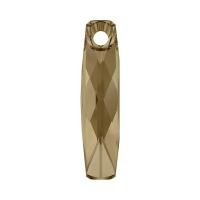 Swarovski Подвеска Прямоугольник 20мм Crystal Golden Shadow (6460)