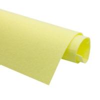 Фетр жёсткий Ю.Корея; толщина 1.2мм; лист 20*30см; Лимонный