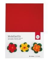 Фетр Rayher, Моделируемый, толщина 2мм; лист 30*45см; Красный