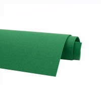 Фетр жёсткий Ю.Корея; толщина 1.2мм; лист 20*30см; Зелёный