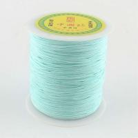 Нить для браслета Шамбала 0,9мм, цвет голубой; 10 метров