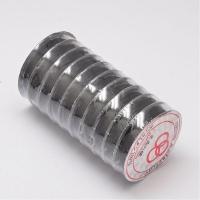 Многослойная нить эластичная, Чёрная, толщина 0.8мм; 10метров