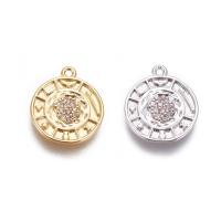 Подвеска Медальон Символы, 15мм; цвет золото
