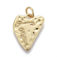 Подвеска Сердце L Аmour; цвет золото