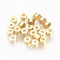 10 штук - Бусина 2.5*2мм, цвет золото