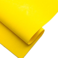 Замша искусственная, 20*30см, жёлтая