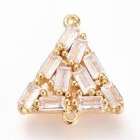 Коннектор Треугольник 17,5*15,5мм, цвет золото