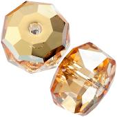Swarovski Рондель 4мм; Crystal Metallic Sunshine, 10 штук (арт.5045)