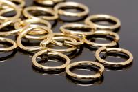 Соединительные колечки 10*1.2мм (10 штук), цвет золото