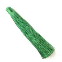 Кисть 12см, цвет ярко-зелёный