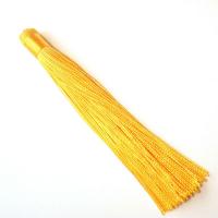 Кисть 12см, цвет жёлтый