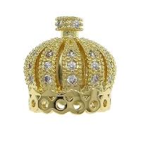 Концевик Корона БОЛЬШАЯ, цвет золото