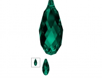 Swarovski Подвеска Бриолетт 11мм Emerald (6010)