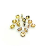 Рондель-Спейсер 11мм, цвет золото