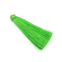 Шёлковая кисть 7 см, цвет ярко Зелёный