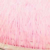 Пёрышки, цвет Розовый 02; отрезок 10см