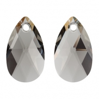 Swarovski Подвеска Капля 6106 16мм Black Diamond