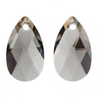 Swarovski Подвеска Капля 6106 22мм Black Diamond