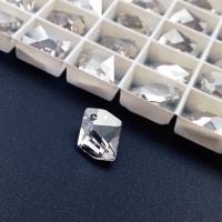 Swarovski Cosmic Pendant 14мм, Silver Shade