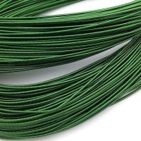 Жёсткая Канитель 1,2мм; 5гр.; Зелёная