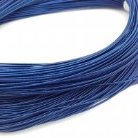 Жёсткая Канитель 1мм; 5гр.; Тёмно-Синяя