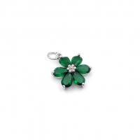 Бусина Овал с ажурной вставкой, цвет золото