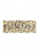 Swarovski Бусина Трубочка Crystal Golden Shadow (5951)