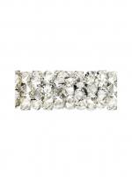 Swarovski Бусина Трубочка Crystal Moonlight #001  15мм (5951)