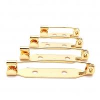 УПАКОВКА 10 штук - Основа для броши, производство Япония, цвет Золото