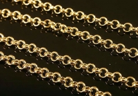 Цепочка универсальная Южная Корея, 1метр, цвет золото; звено 2,5мм