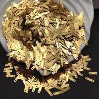 Пайетки Италия 9*2.5мм Золото металл (2011); 3 грамма